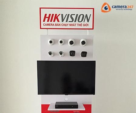Hướng dẫn lắp kệ trưng bày sản phẩm camera quan sát Hikvision