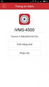 Phần mềm camera quan sát iVMS-4500