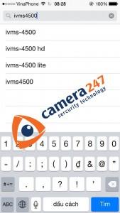 Phần mềm camera quan sát iVMS 1