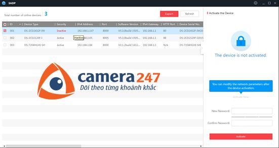 Hướng dẫn cài đặt và sử dụng camera quan sát Hikvision IP