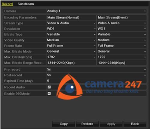 Hướng dẫn cài đặt và sử dụng đầu ghi hình Hikvision15