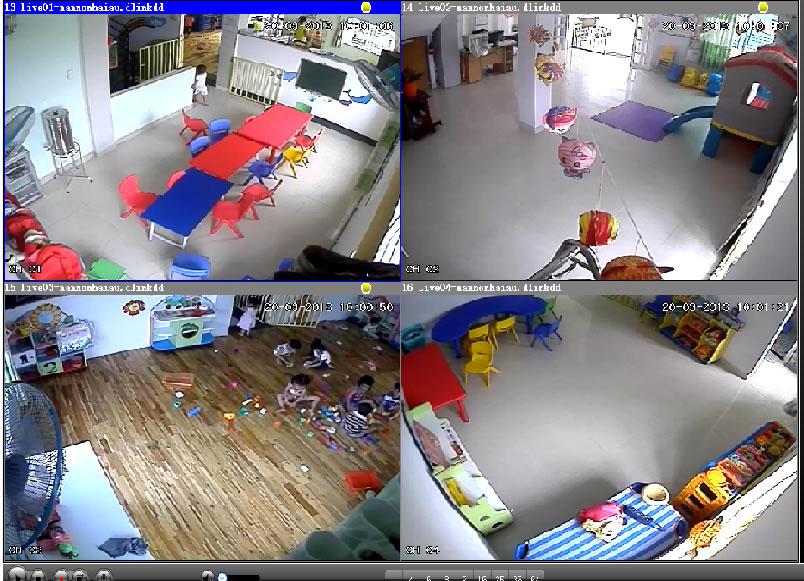 Hướng dẫn lắp đặt camera cho trường mầm non