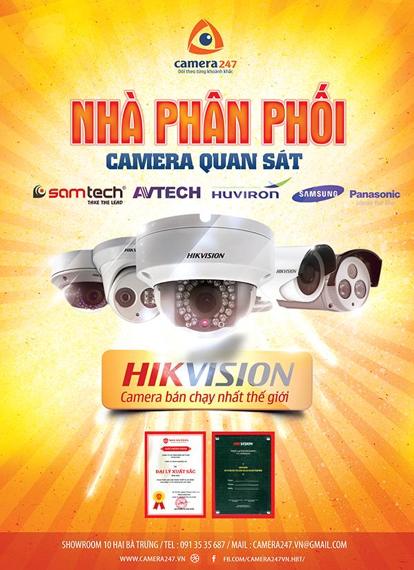 Camera247 chuyên phân phối camera toàn quốc