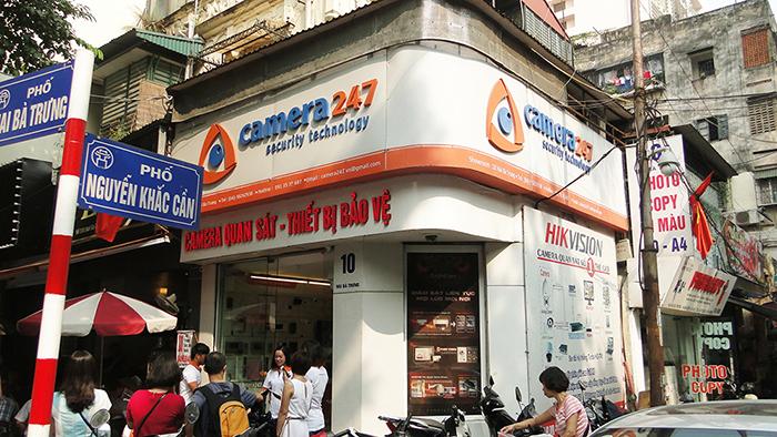 Camera247 chuyên phân phối camera và phụ kiện camera toàn quốc