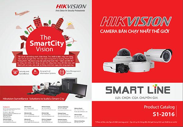 Khuyến mại lớn dành cho camera Hikvision Smart Line