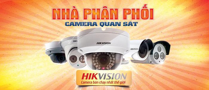 Phân phối camera Hikvision trên toàn quốc