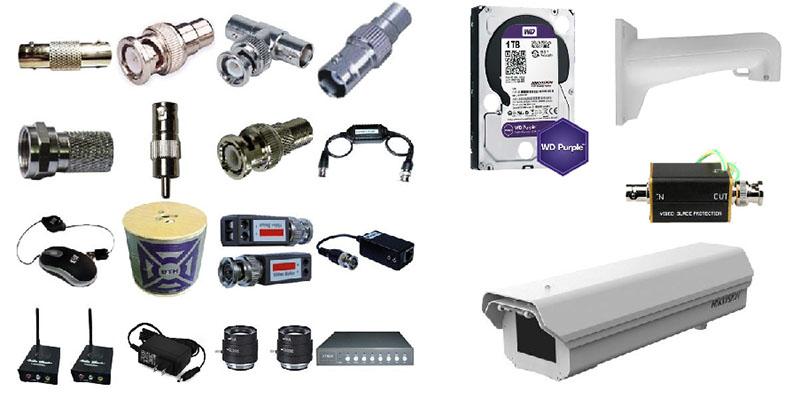 Phân phối phụ kiện camera quan sát