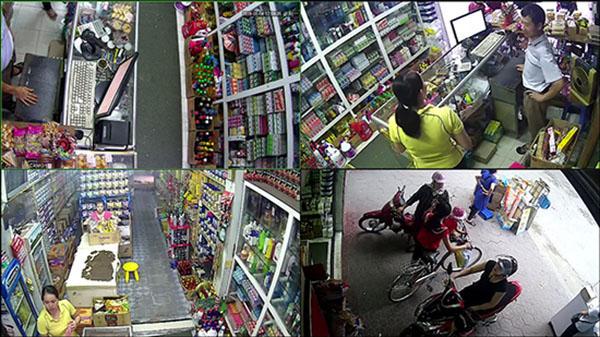 Lắp đặt camera quan sát cho cửa hàng 1