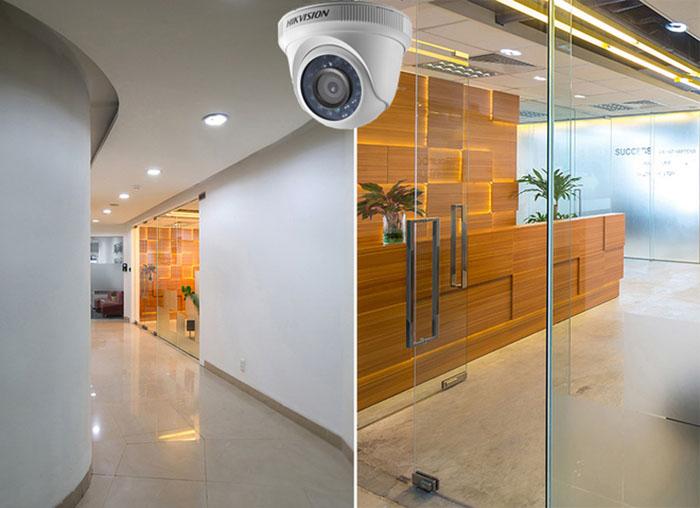 Lắp đặt camera giám sát cho văn phòng