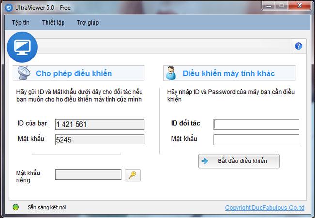 Hướng dẫn cài đặt phần mềm hỗ trợ từ xa online Ultra viewer 7