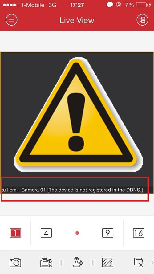 Một số lỗi code thường gặp trong phần mềm iVMS4500