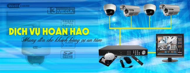 Dịch vụ lắp đặt camera quan sát uy tín tại Hà Nội