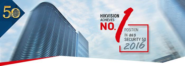 Hikvision top 1 thế giới trong nghành CCTV