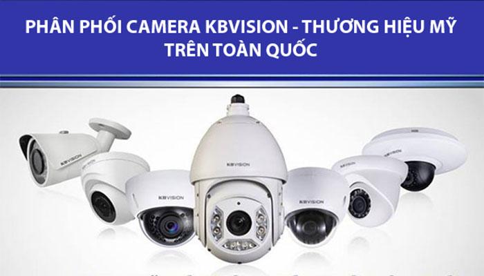 Phân phối camera KBVISION trên toàn quốc