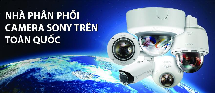 Phân phối camera Sony trên toàn quốc