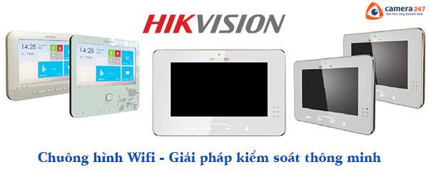 Chuông cửa Hikvision Wifi giải pháp kiểm soát thông minh