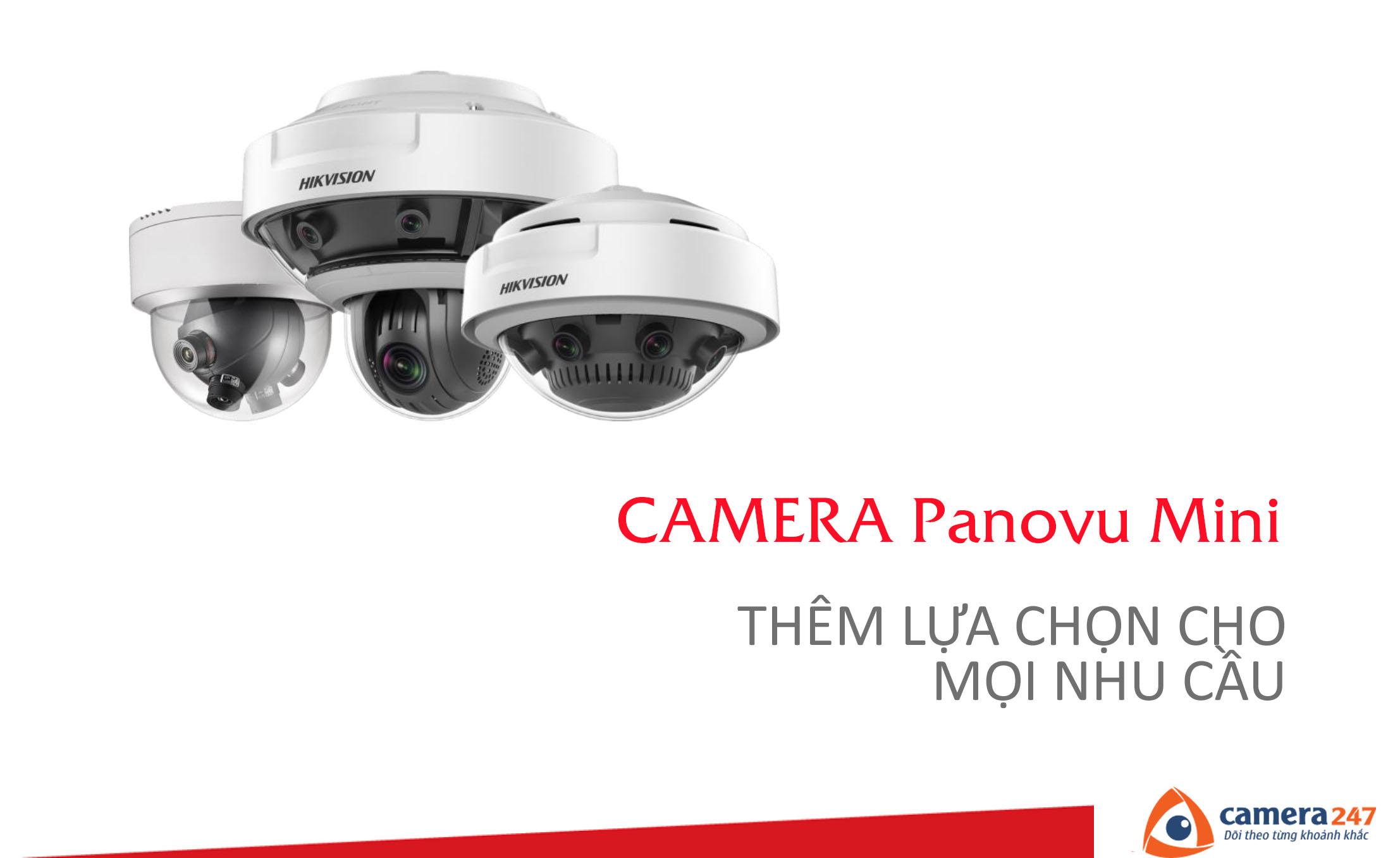 Hikvision Mini Panovu cú đột phá mới