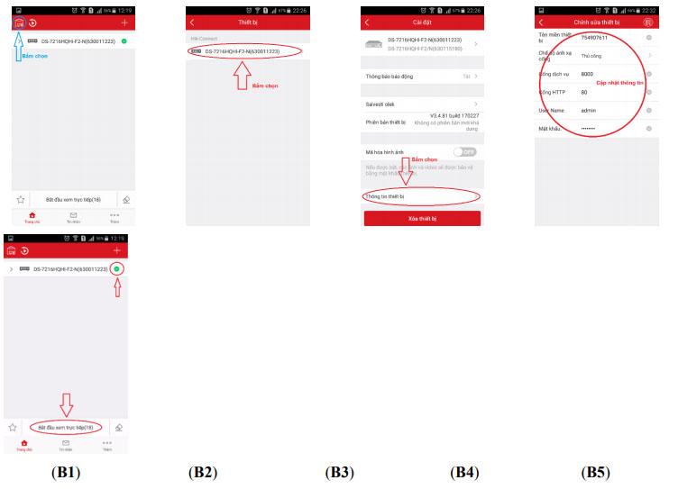 Hướng dẫn xem trực tiếp Hik-connect qua App Mobile
