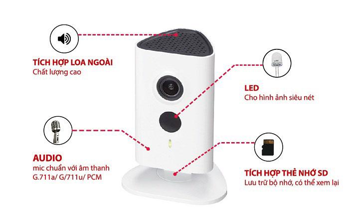Dahua ra mắt camera Wifi công nghệ H.265