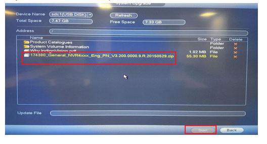 Làm thế nào để cập nhật Firmware thông qua USB