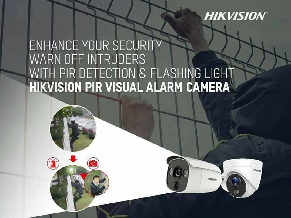Công nghệ PIR lần đầu tiên có trên camera HD-TVI