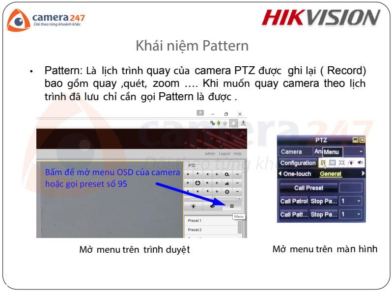 Hướng dẫn sử dụng camera quay quét Analog-Turbo Hikvision
