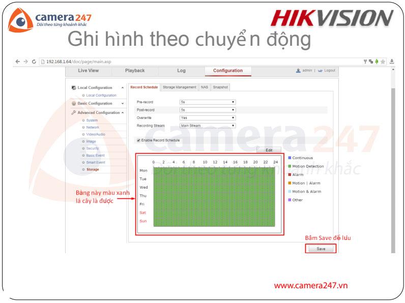 Hướng sử dụng camera IP Hikvision (Part1)