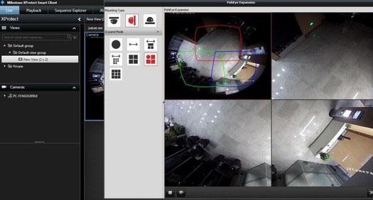 Hikvision phát hành Giải pháp Deyarping Fisheye