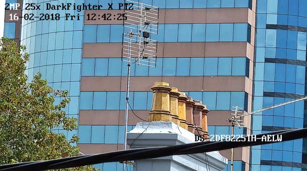 Khả năng hiển thị vượt trội của Hikvision DarkfighterX PTZ