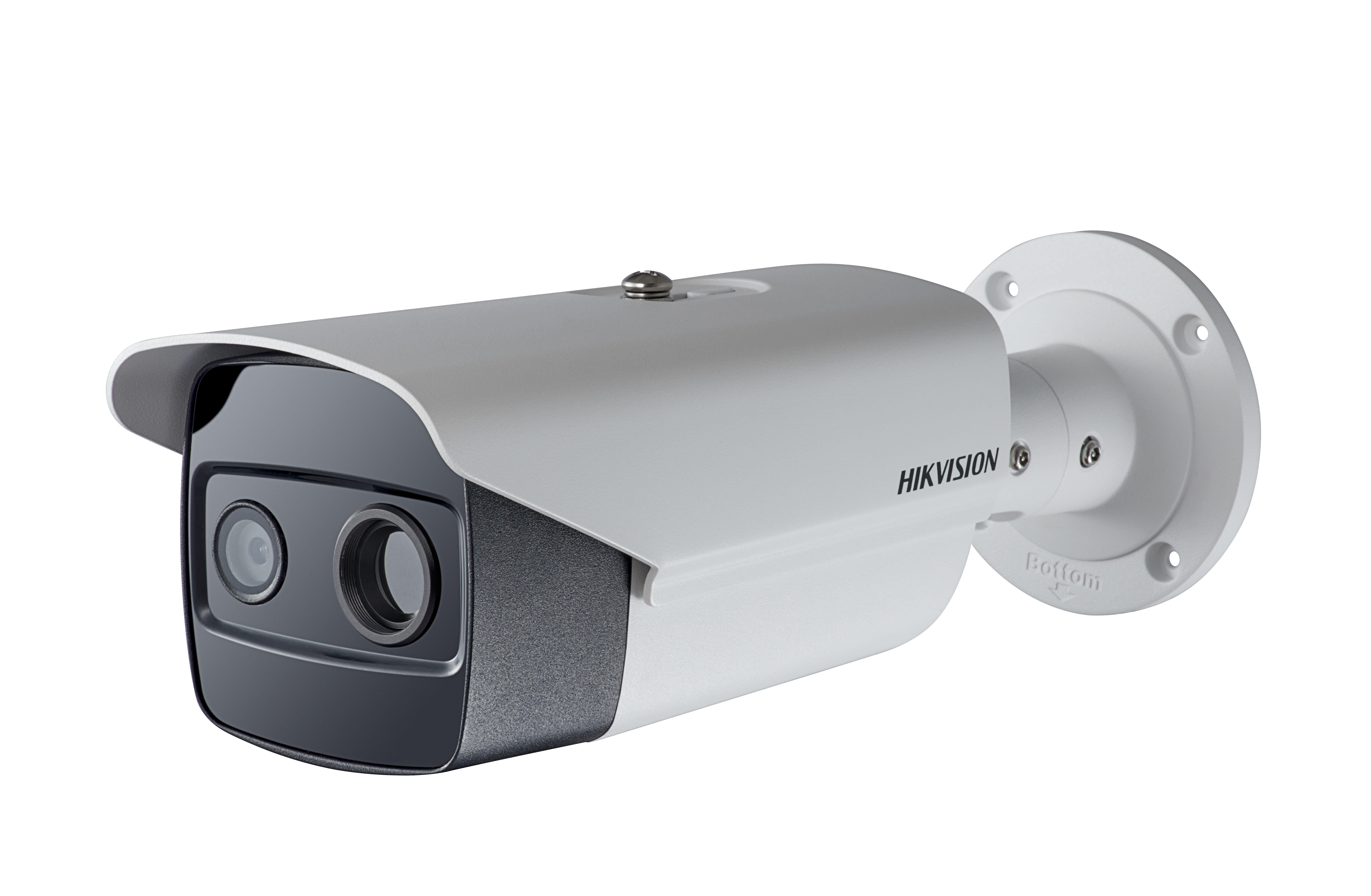 Camera ảnh nhiệt Hikvision mới – Phát hiện cháy thông minh