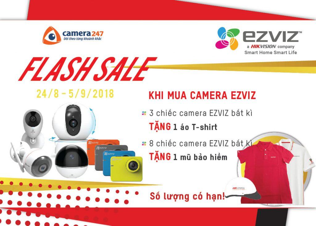 Chương trình khuyến mại EZVIZ tháng 8