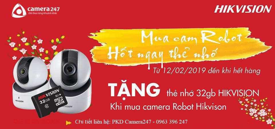 Khuyến mãi Hikvision tháng 2 - Camera247