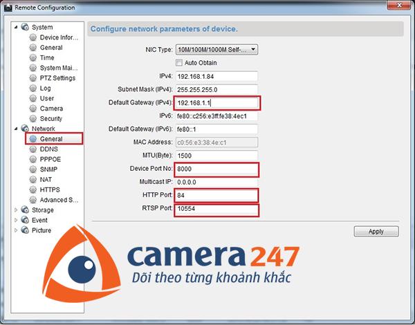 Hướng dẫn cài đặt DDNS cho camera quan sát HIKVISION9