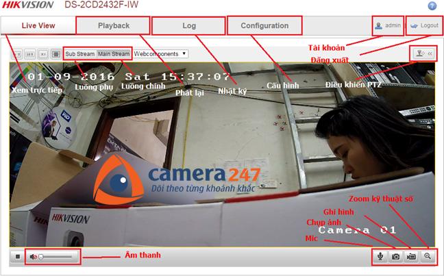 Hướng dẫn cài đặt và sử dụng camera quan sát Hikvision IP 4