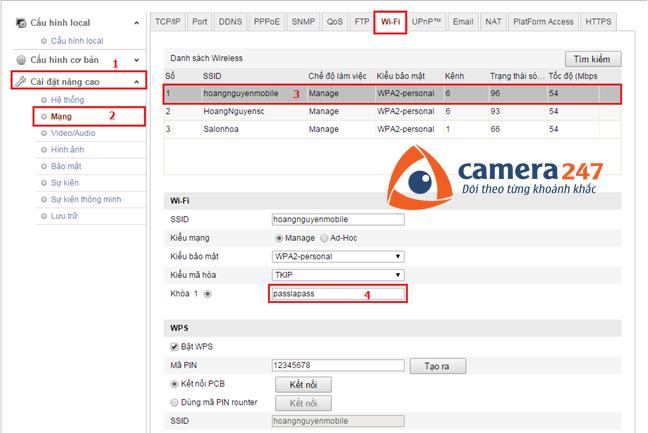 Hướng dẫn cài đặt và sử dụng camera quan sát Hikvision IP 5
