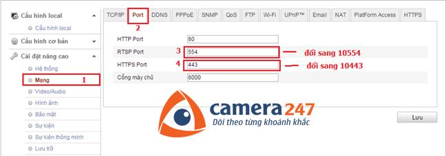 Hướng dẫn cài đặt và sử dụng camera quan sát Hikvision IP 8