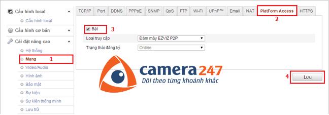 Hướng dẫn cài đặt và sử dụng camera quan sát Hikvision IP 9
