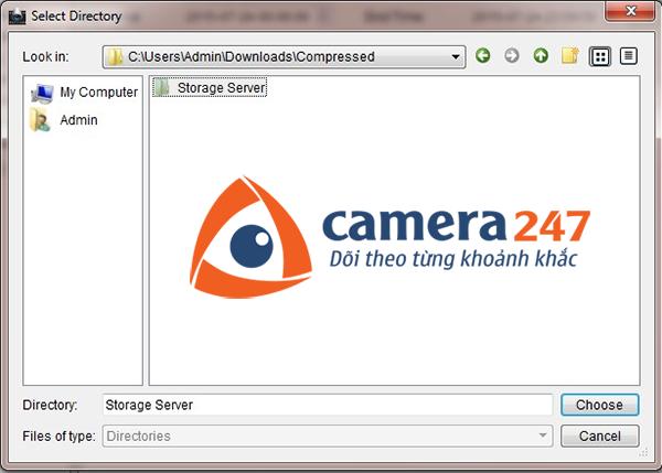 Hướng dẫn xem lại khi ghi hình trên Storage Server 3
