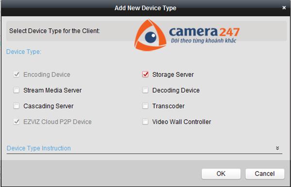 Thêm máy chủ lưu trữ cho việc ghi hình trên Storage Server 2