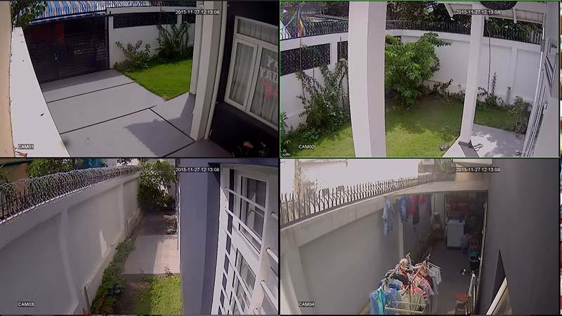 Đặt camera chống trộm