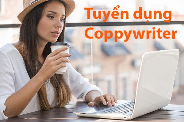 Tuyển dụng coppywriter nhân viên nội dung website