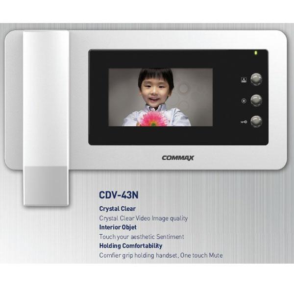 Chuông cửa màn hình màu COMMAX CDV-43N
