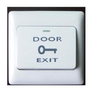 Nút ấn khẩn cấp hoặc mở khóa kích thước lớ EXIT DOOR