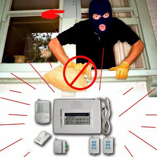 Lựa chọn báo động chống trộm sim và line cho gia đình bạn