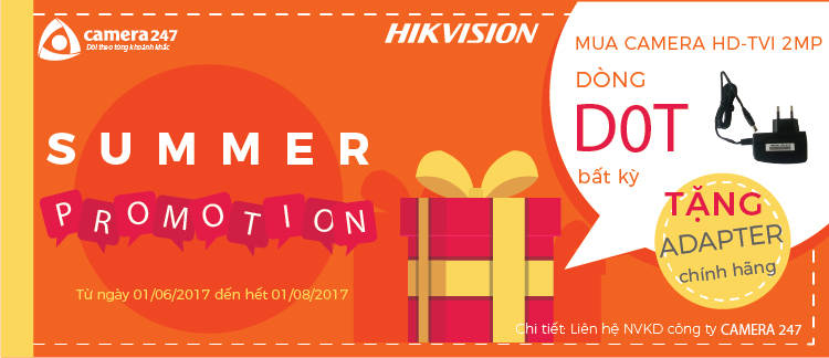 khuyến mãi hikvision