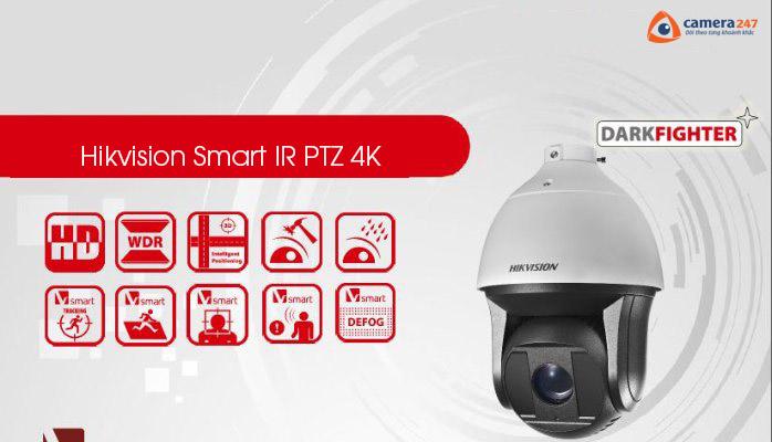 Giải pháp toàn diện từ Hikvision PTZ 4K