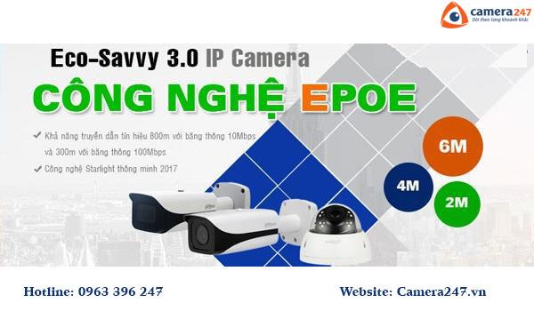 Công nghệ Dahua ra mắt hệ thống IP ePOE