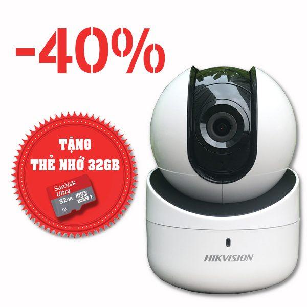 Camera quan sát Hikvision IP Cube Wifi DS-2CV2Q01EFD-IW