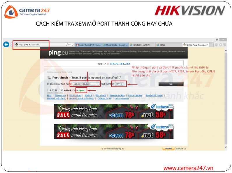 Đăng kí và sử dụng dịch vụ Cloud Hik-connect và Hik-connect Domain
