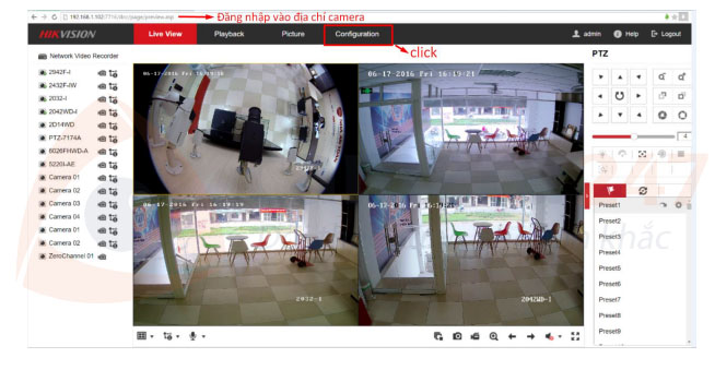 Hướng dẫn Upgrade Firmware camera/ đầu ghi hình